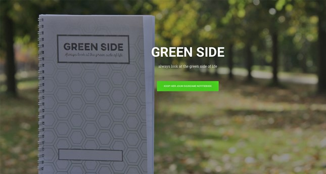 Green-side-header